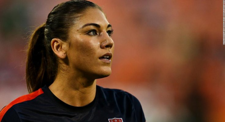Hope Solo Shoe Size and Body Measurements