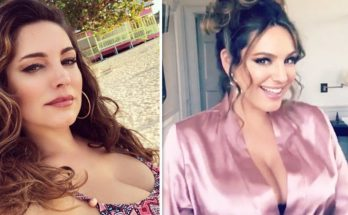 Kelly Brook Shoe Size and Body Measurements