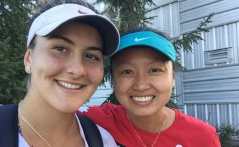 Bianca Andreescu Shoe Size and Body Measurements