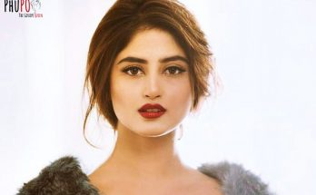 Sajal Ali Shoe Size and Body Measurements