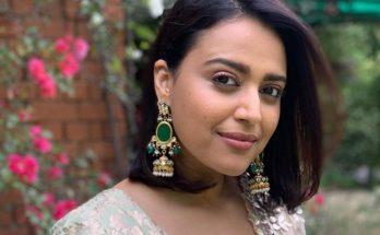 Swara Bhaskar Shoe Size and Body Measurements