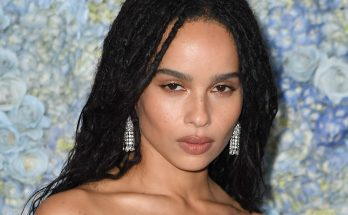 Zoe Kravitz Shoe Size and Body Measurements